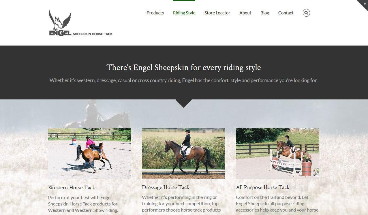 Engel Sheepskin Horse Tack