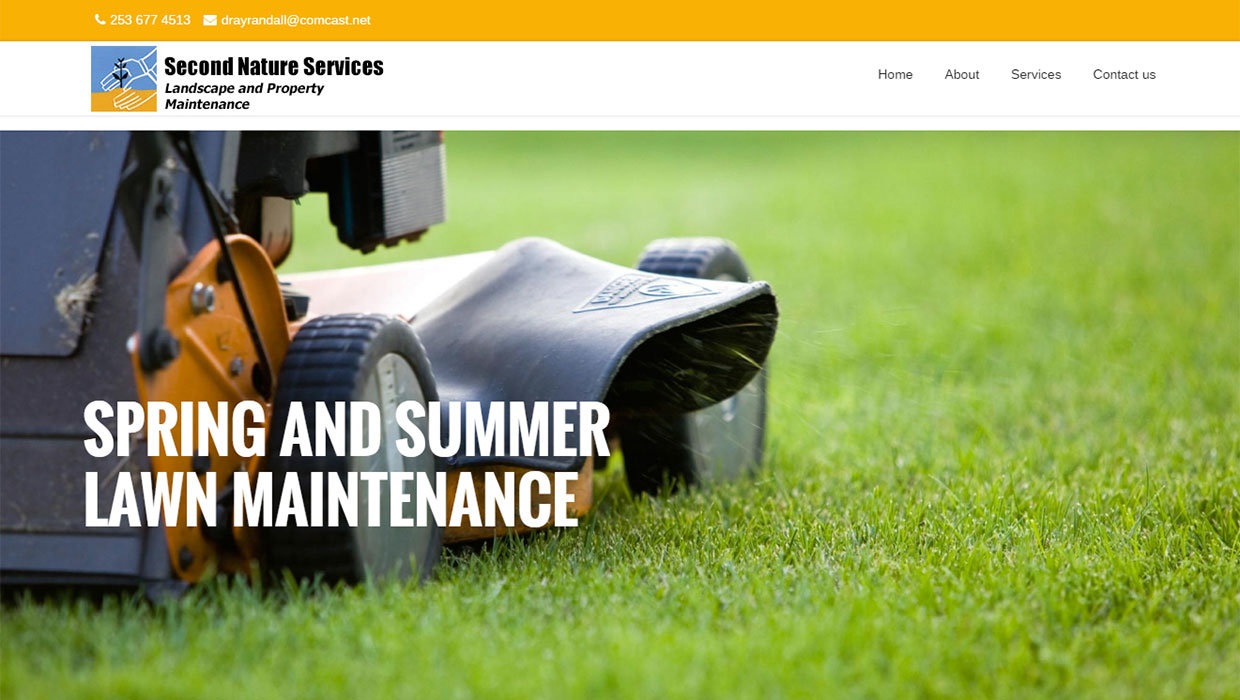Second Nature Services Landscape and Property Maintenance